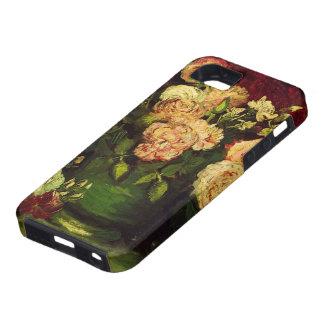 Van Gogh Bowl met Pioenen en Rozen, Fijn Art. Tough iPhone 5 Hoesje