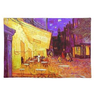 Van Gogh Cafe Terras bij Nacht Placemat