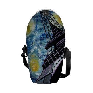 Van Gogh de Starry Zak van de Nacht Courier Bag