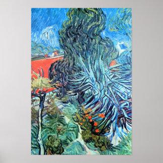 Van Gogh de Tuin van Gachet van de Fine Arts van Poster