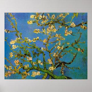 Van Gogh Flowers Kunst, de Tot bloei komende Boom Afdruk