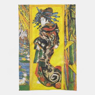 Van Gogh Geisha Theedoek