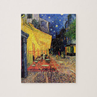 van Gogh - het Terras van de Koffie bij Nacht (188 Puzzel