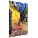 Van Gogh, het Terras van de Koffie bij Nacht, Canvas Afdrukken