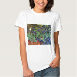 Van Gogh Irises, het Vintage PostArt. van het Tshirts