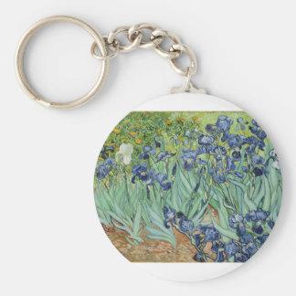 Van Gogh Irises Sleutelhanger