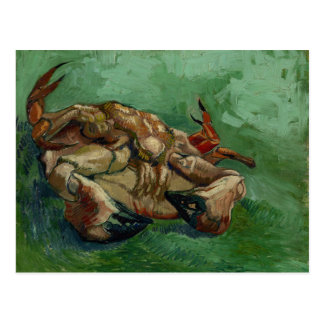 Van Gogh | Krab bij de zijn Achter | Briefkaart
