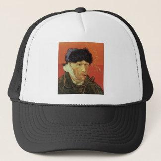 Van Gogh - Man met Pijp Trucker Pet