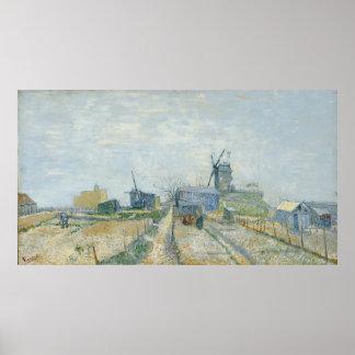Van Gogh, Molens en moestuinen Poster