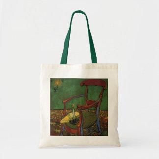 Van Gogh Paul Gauguin Leunstoel, Vintage Art. Draagtas
