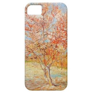 Van Gogh Pink Perzikboom in het Geval van iPhone v