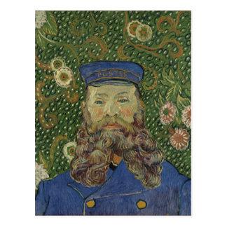 Van Gogh   Portret van Brievenbesteller Joseph Briefkaart