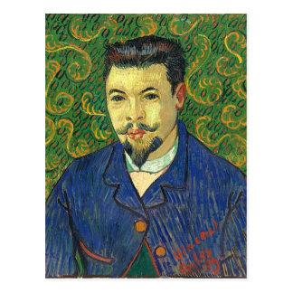 Van Gogh | Portret van Dr. Félix Rey | 1889 Briefkaart