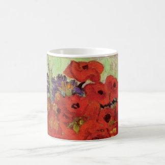Van Gogh Red Papavers en Madeliefjes, de Fijne Koffiemok