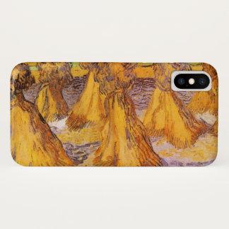 Van Gogh Sheaves van Tarwe, Vintage Fijn Art. iPhone X Hoesje