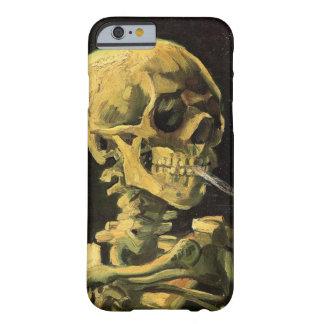 Van Gogh Skull met het Branden van Sigaret, Barely There iPhone 6 Hoesje