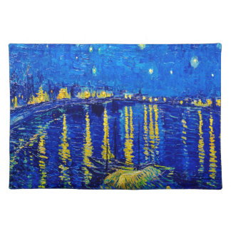 Van Gogh Starry Nacht over de Rhône Placemat