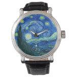 Van Gogh sterrige nacht Horloges