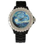 Van Gogh - Sterrige Nacht Horloges