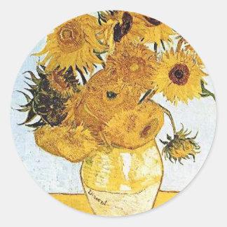 Van Gogh The Vaas met de Sticker van 12