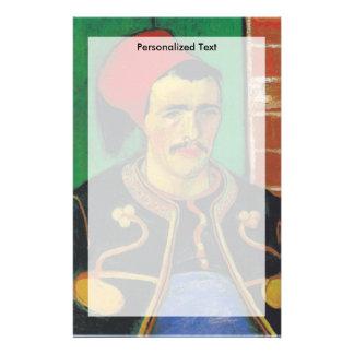 Van Gogh |The Zouave| 1888 Briefpapier