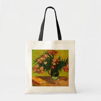 Van Gogh Vase met het BloemenArt. van Oleanders en Draagtas