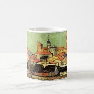 Van Gogh View van Saintes Maries, Vintage Fijn Koffiemok