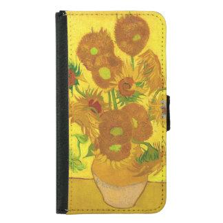 Van Gogh Vijftien Zonnebloemen in een Fijn Art.