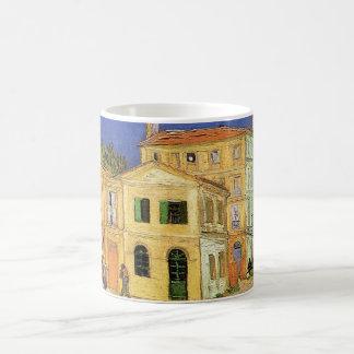 Van Gogh Vincent's Huis in Arles, Fijn Art. Koffiemok