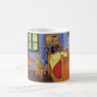 Van Gogh Vincent's Slaapkamer in Arles, Fijn Art. Koffiemok