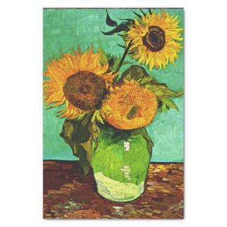 Van Gogh - Zonnebloemen (3) Tissuepapier