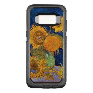 Van gogh zonnebloemen OtterBox commuter samsung galaxy s8 hoesje