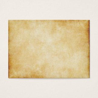 Van het Achtergrond document van het perkament Visitekaartjes