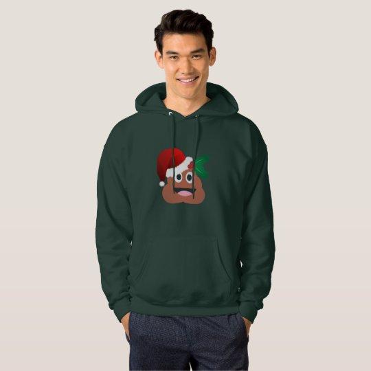 van het achterschipemoji van de Kerstman het Hoodie