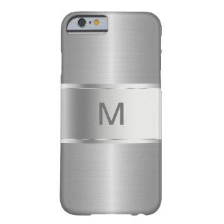 Van het bedrijfs mannen Monogram Smartphone Barely There iPhone 6 Hoesje