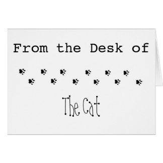 Van het Bureau van de Kat Kaart