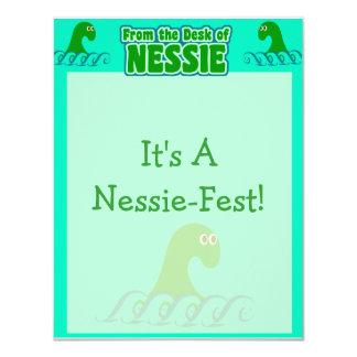 Van het bureau van Nessie! Kaart