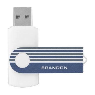 Van het de douanemonogram van het Patroon van Swivel USB 3.0 Stick