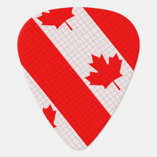 Van het de esdoornblad van de Dag van Canada het Gitaar Plectrum