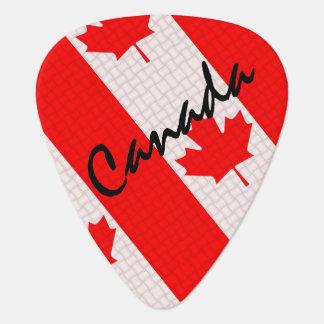 Van het de esdoornblad van de Dag van Canada het Plectrum