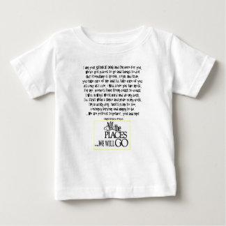 Van het de hondgedicht FNL van de dienst ACHTER Baby T Shirts