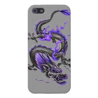 Van het de kunsttattoo van de draak stammen koel d iPhone 5 hoesje