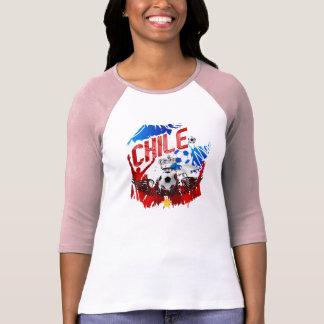 Van het de kunstvoetbal van La Roja van Chili T Shirt