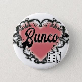 van het de nacht uit hart van buncomeisjes het ronde button 5,7 cm