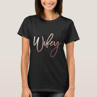 //van het de partijoverhemd van de Vrijgezellin T Shirt