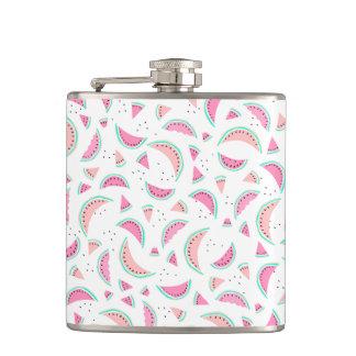 Van het de pastelkleur de roze koraal van de zomer heupfles