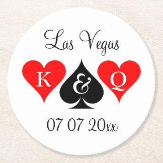 Van het de pookhuwelijk van Las Vegas van de Ronde Onderzetter