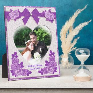 Van het de rozenportret van de lavendel de fotoplaten