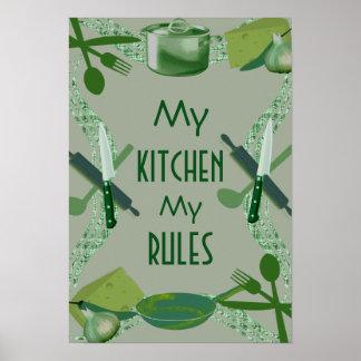 Gepersonaliseerde keuken lijsten posters en afdrukken - Gepersonaliseerde keuken ...