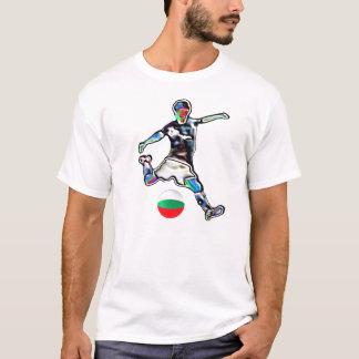 Van het de vlagfootball van Bulgarije het T Shirt